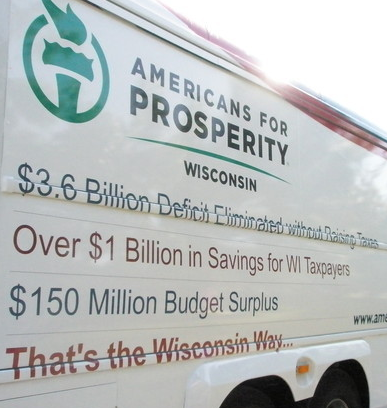 AFP June 2012 Bus Tour for Walker