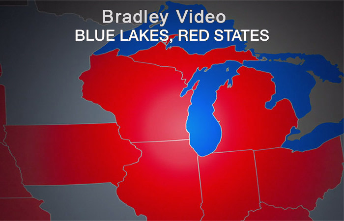 Bradley video - Blue Lakes, Red States