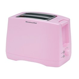 Breast cancer awareness toaster