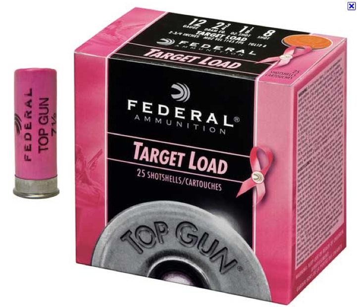 Federal Ammunition's pink breast cancer awareness bullets