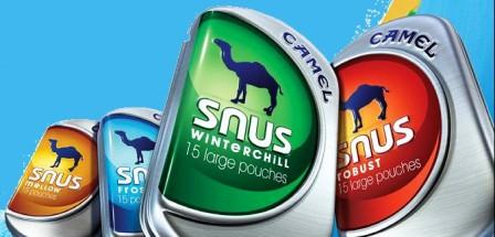 Candy flavors and bright packaging make snus a kid-friendly option