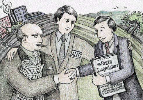 ALEC: A Conduit Between Corporations and Legislators