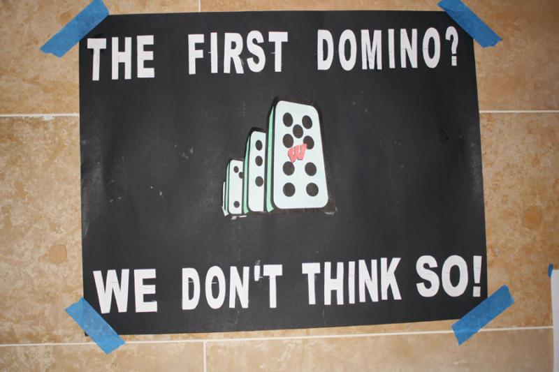 The First Domino? We Don't Think So!