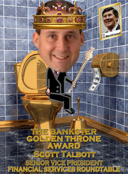 Scott Talbott, recipient of Golden Throne Award