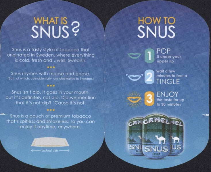 A snus how-to