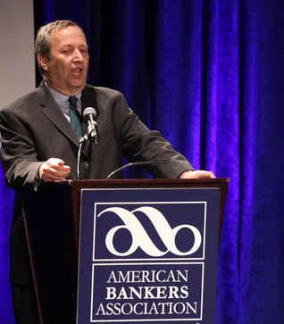 Larry Summers meets with the Big Banks