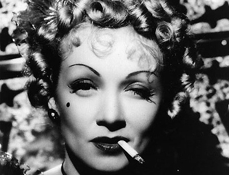 Silver Screen Star Marlene Dietrich