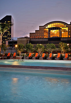 Poolside at the New Orleans Marriott
