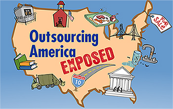 Outsourcing America Exposed Map (Mark Fiore)