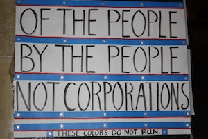 Of The People, By The People, Not Corporations