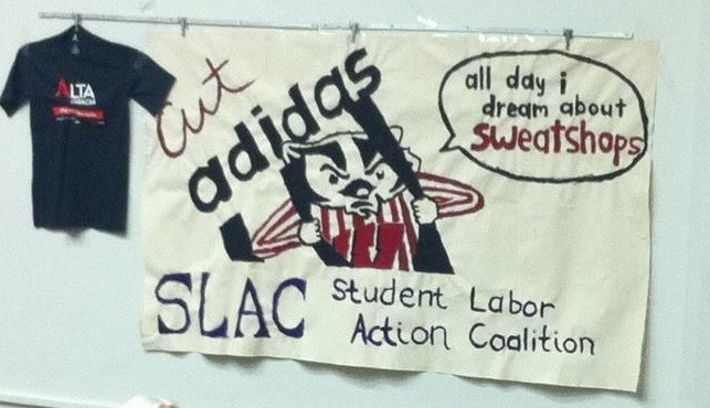 "image of banner that says ""cut adidas"""
