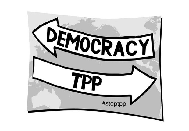 Stop Trans-Pacific Partnership (TPP)